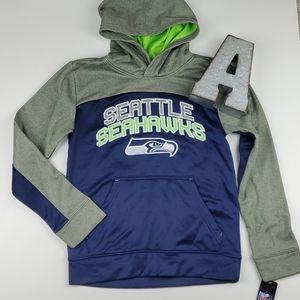 NFL Seattle Seahawks Hooded Pullover Sweatshirt